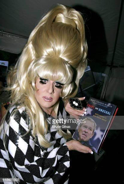 The Lady Bunny during Wigstock Festival 2005 at Tompkins Square Park in New York City, New York, United States.