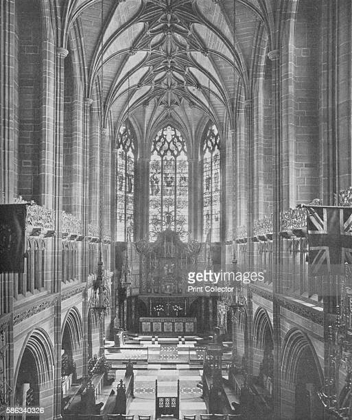 The Lady Chapel Liverpool Cathedral 1926 Designed by Giles Gilbert Scott and built on St James Mount in the centre of Liverpool this is the second...