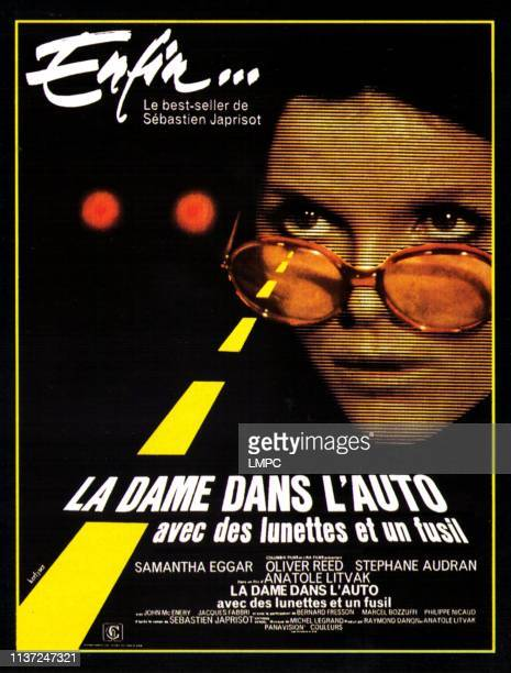 The Lady In The Car With Glasses And A Gun poster French poster Samantha Eggar 1970