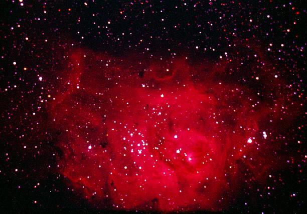 The Lagoon Nebula in Sagittarius