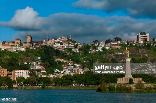 the lake anosy, antananarivo, madagascar - antananarivo stock photos and pictures