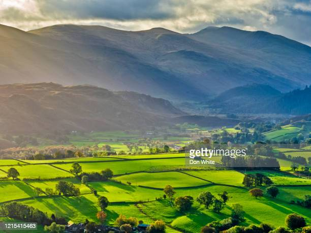the lake district region of the united kingdom - cloudscape stock pictures, royalty-free photos & images