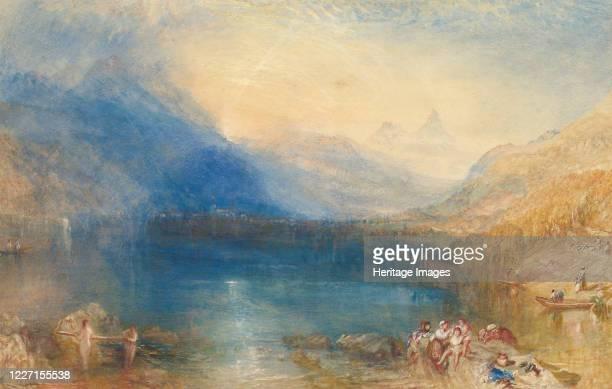The Lake of Zug, 1843. Artist JMW Turner.