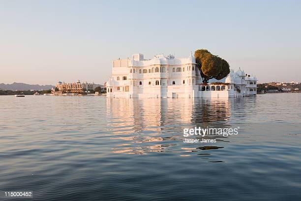 The lake Palace Hotel at Udaipur,India