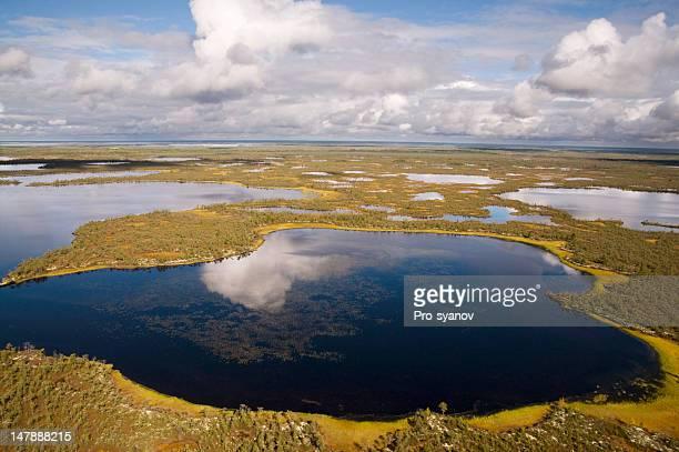 The lakes da Sibéria Ocidental.