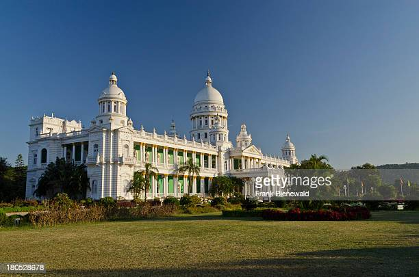 The Lalitha Mahal Palace Hotel outside of Mysore is the most luxurious place to stay