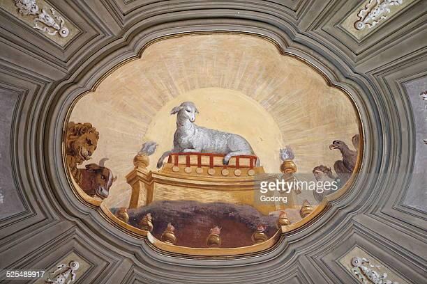 The Lamb of God Agnus Dei Church of Saints Vincent and Anastasius in Trevi