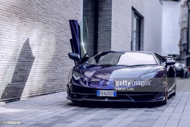 February 13: The Lamborghini Aventador SVJ in London, England. Unveiled at the 2018 Pebble Beach Concours d'Elegance, the Aventador SVJ is a track...