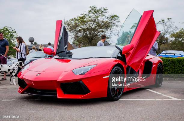 The Lamborghini Aventador This Car Was Part Of Essendon Country Clubs First Supercar Show In June