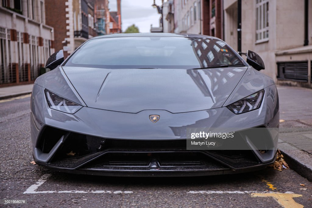 The Lamborghini Huracan Performante... : News Photo
