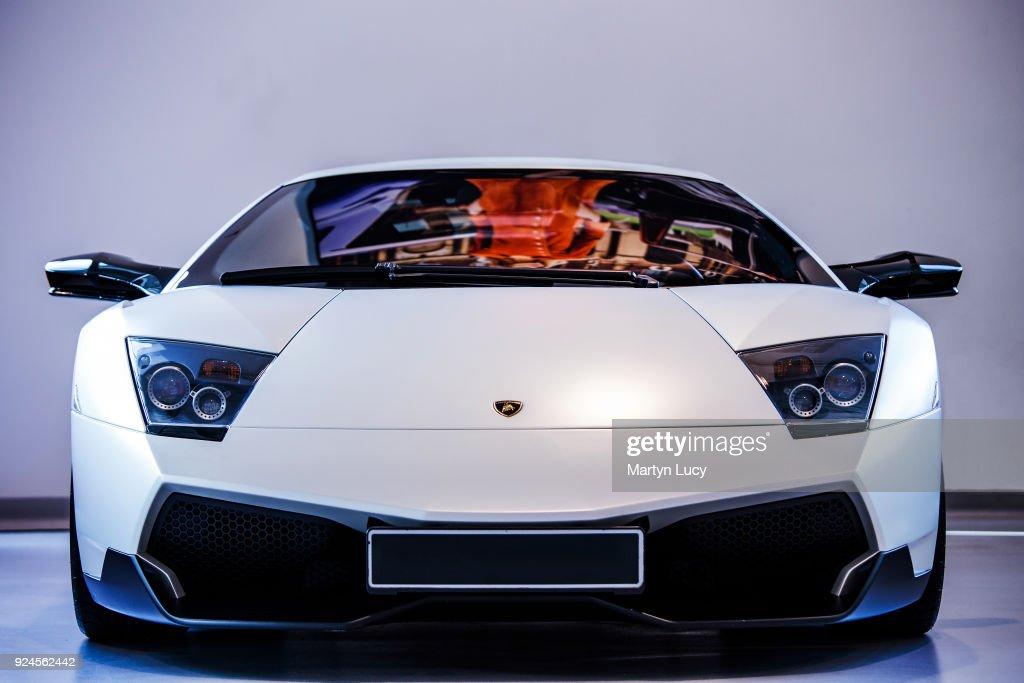 The Lamborghini Murcielago SV.