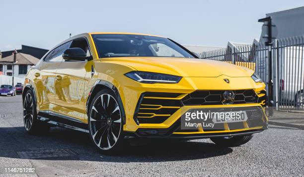 The Lamborghini Urus attending 'Supercar Sunday', Hosted by HR Owen in Acton, London. The name comes from the Urus, the ancestor of modern domestic...