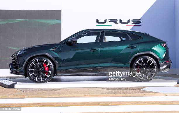 The Lamborghini Urus seen at Goodwood Festival of Speed 2019 on July 4th in Chichester, England. The annual automotive event is hosted by Lord March...