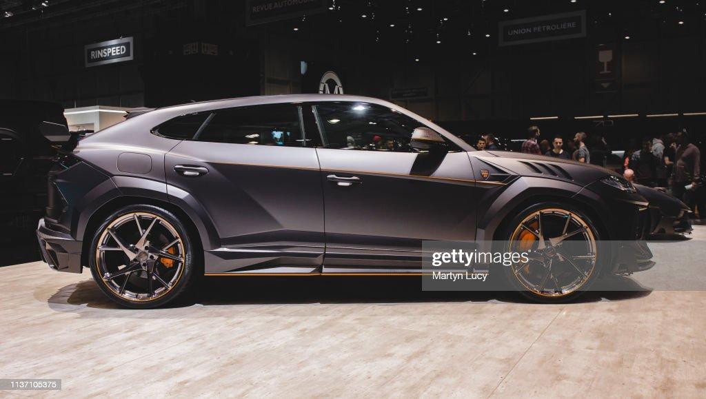 The Lamborghini Urus Venatus By Mansory At The Geneva International News Photo Getty Images