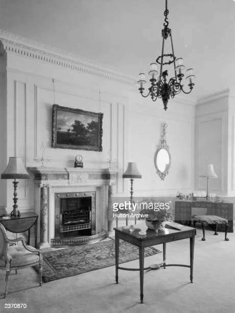 The Lancaster room of Clarence House in London 1949 The house was built in 182527 by John Nash for the Duke of Clarence later King William IV The...