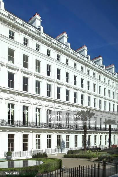 The Lancasters, a top end residential development on Lancaster Gate, opposite Hyde Park. Fifteen adjoining 19th century houses have been gutted and...