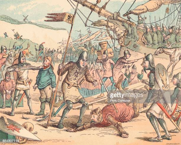 The Landing of William the Conqueror c1884 William the Conqueror 11th century Duke of Normandy and King of England William came to the throne of...