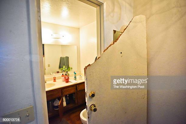 The landlord of the San Bernardino shooting suspects' duplex/condo allowed media in at 53 N Center St. Friday morning in Redlands, CA. The front door...