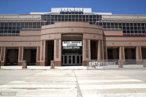 The Landmark Mall which opened in 1965 now sits empty after being closed earlier this year on August 9 2017 in Alexandria Viginia Malls across...