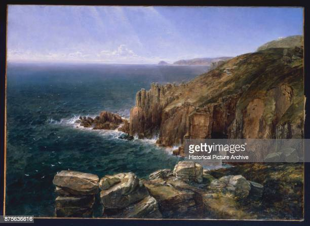 The Land's End Cornwall by Thomas Creswick