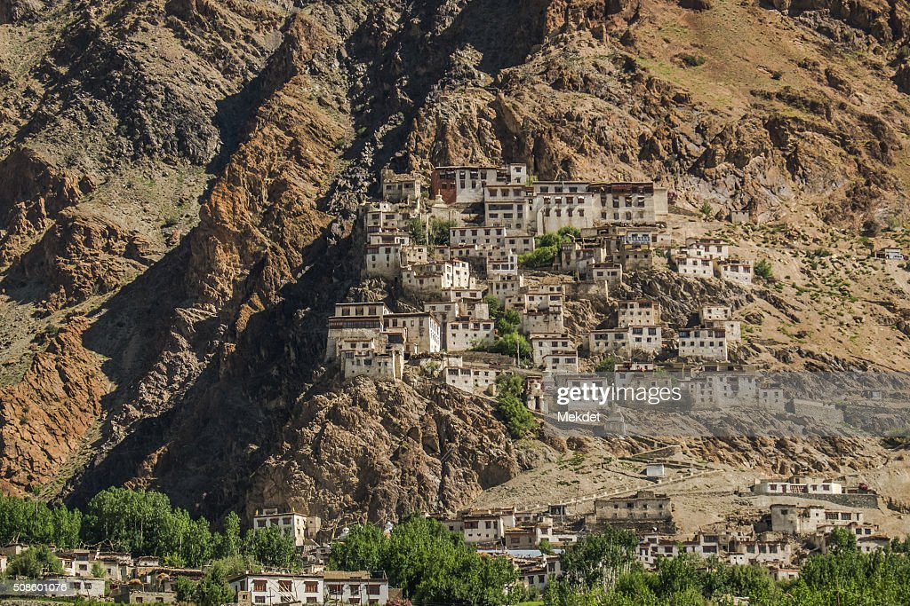 The landscape in Zanskar Valley, Ladakh Region, Jammu and Kashmir, India. : Stock Photo