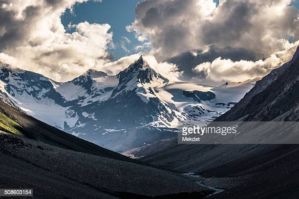 The landscape in Zanskar Valley, Ladakh Region, Jammu and Kashmir, India.