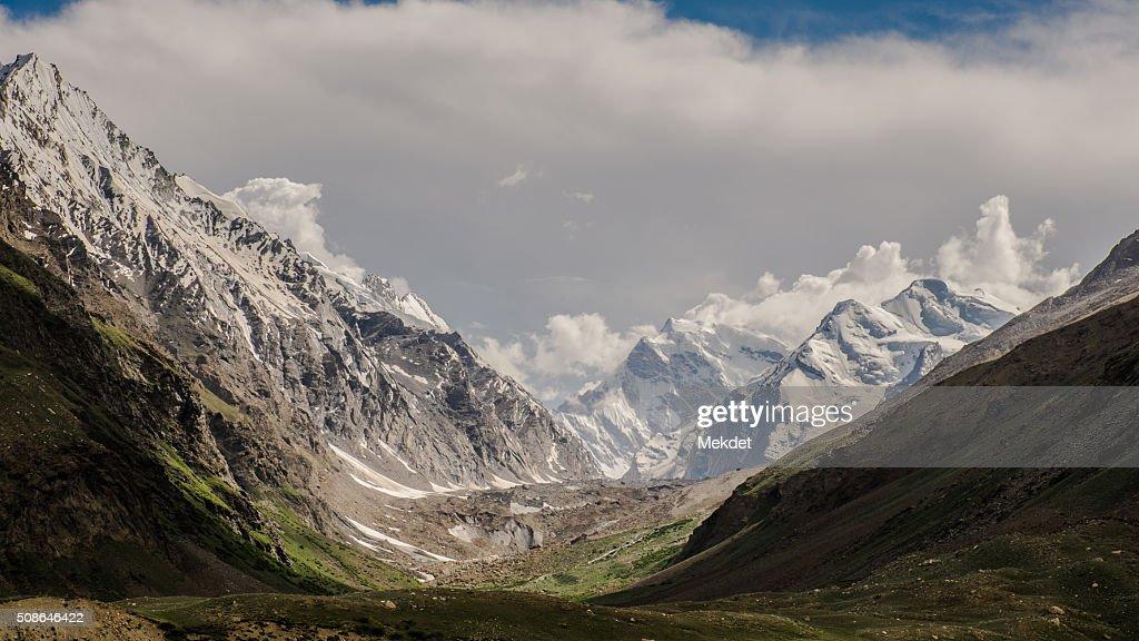 The landscape in Zanskar Valley, Ladakh Region, Jammu and Kashmir, India. : Stock Photo