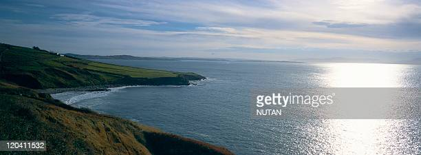 The landscape of Donegal : Saint-John's point, in Ireland.