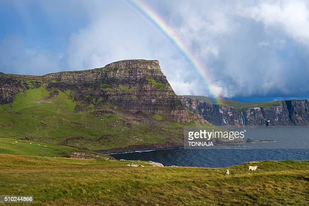 The landscape of Isle of Skye