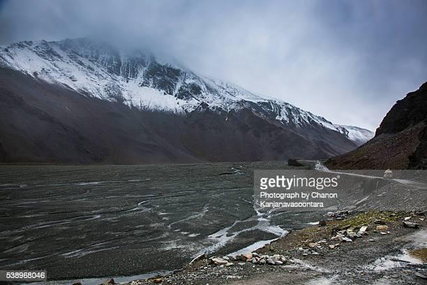 The Landscape of Lachulung la in Zanskar Region