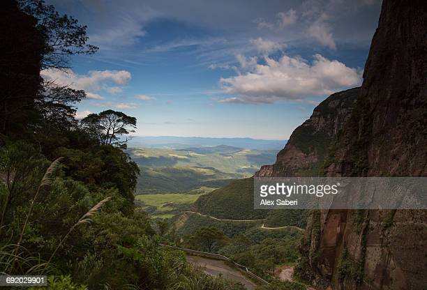 the landscape of serra do corvo branco in urubici, santa catarina state, brazil. - alex saberi stock pictures, royalty-free photos & images