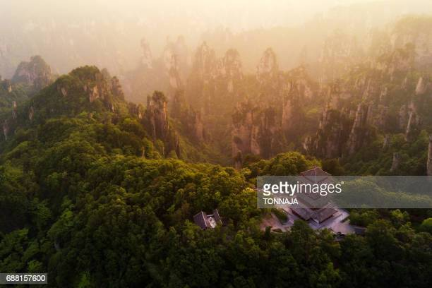 The Landscape of Zhangjiajie National Forest Park, Hunan, China