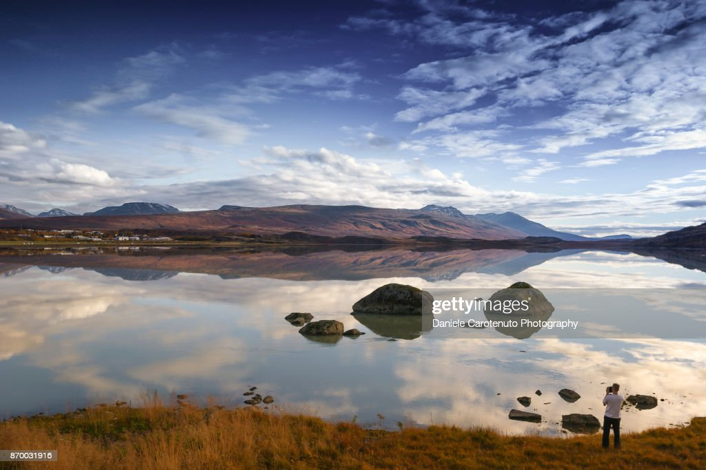 The Landscape Photographer : Stock Photo