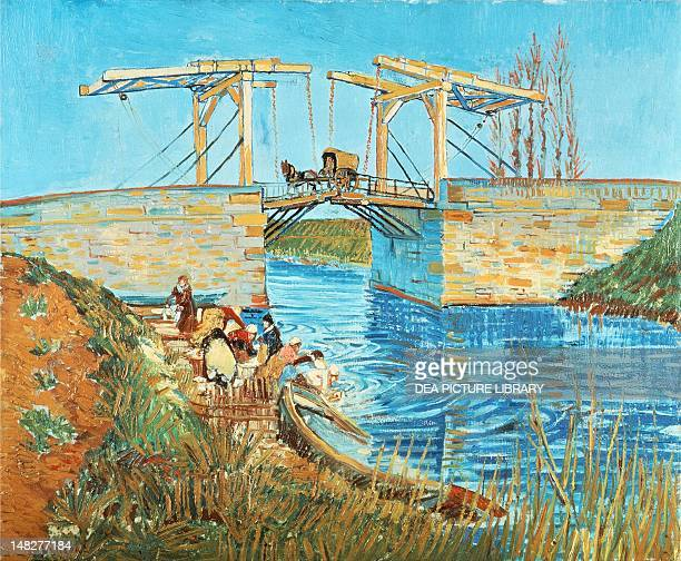 The Langlois Bridge by Vincent van Gogh Otterlo Rijksmuseum KrollerMuller