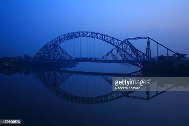 The Lansdowne Bridge Rohri is a former railway bridge over the Indus River in Pakistan. A marvel of 19th-century engineering, the 'longest 'rigid'...