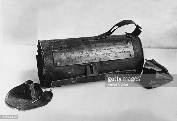 1605 The lantern used by Guy Fawkes in the cellars of the Palace of Westminster when he tried to blow up Parliament with gunpowder