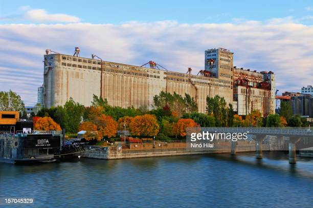 The large and familiar grain elevator complex located at the foot of McGill Street and the mouth of the LachineCanal, popularly known as Silo No. 5,...