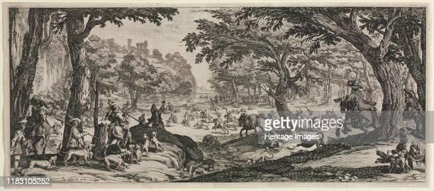 The Large Hunt 1619 Jacques Callot The Large Hunt 1619 Etching Gift of Margaret Crile Garretson in memory of Hiram Garretson 1970342 Callot is known...