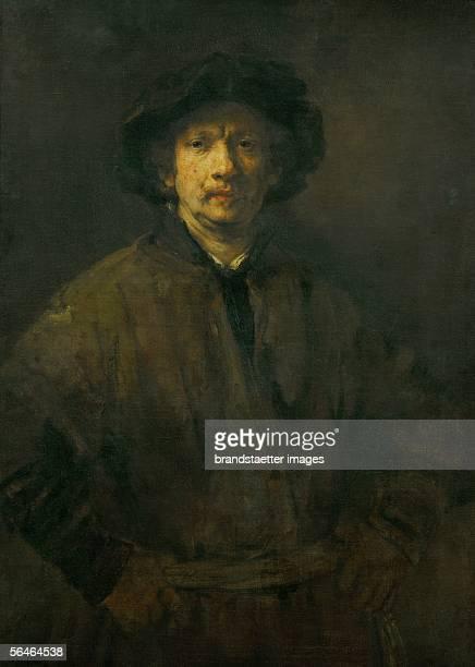 The Large Selfportrait Oil on canvas 112 x 815 cm Inv 411 [Grosses Selbstportrait von Rembrandt oel auf Leinwand 112 x 815 cm Inv 411]