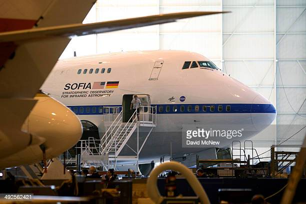 the largest airborne observatory in the world which makes astronomic observations not possible by even the largest and highest of groundbased...