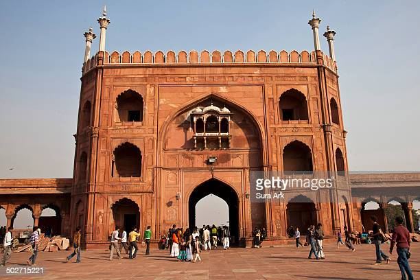 The largest mosque in India, the Jama or Jami Masjid was built between 1644 and 1658 during the reign of Shah Jahan, the most prolific of the Mughal...