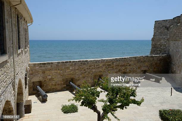 The Larnaca Castle at Larnaca on May 27 2013 in Larnaca Cyprus