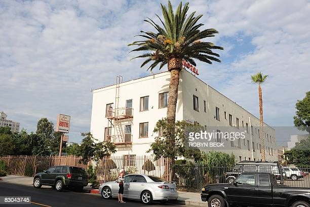 OFFBEAT The Las Palmas Hotel in Hollywood California where Elizabeth Short stayed before she was brutally mutilated and killed in 1947 in what became...