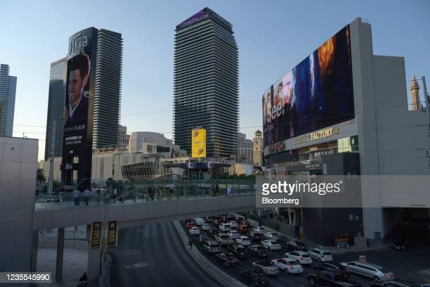 The Las Vegas Cosmopolitan casino and hotel in Las Vegas, Nevada, U.S., on Monday, Sept. 27, 2021. Blackstone Inc. Has reached a deal to sell the...