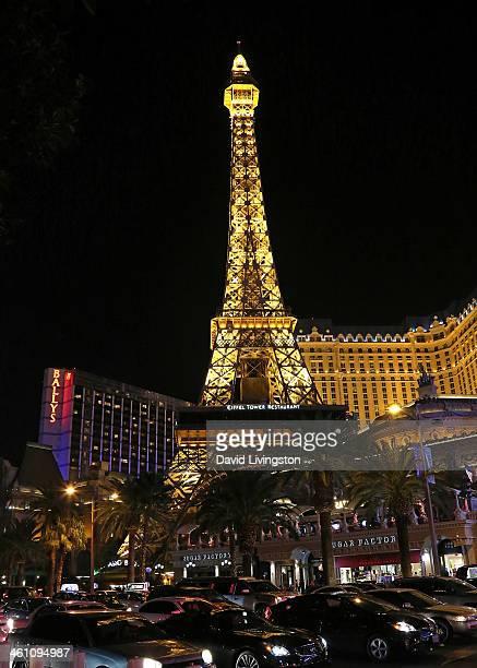 The Las Vegas Strip at night is seen on December 28 2013 in Las Vegas Nevada