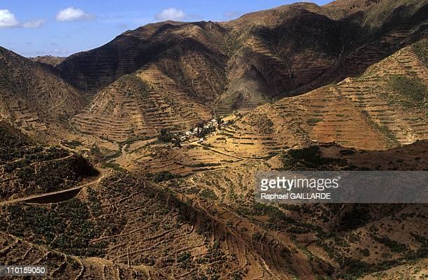 The last 10 Km before Asmara in Eritrea