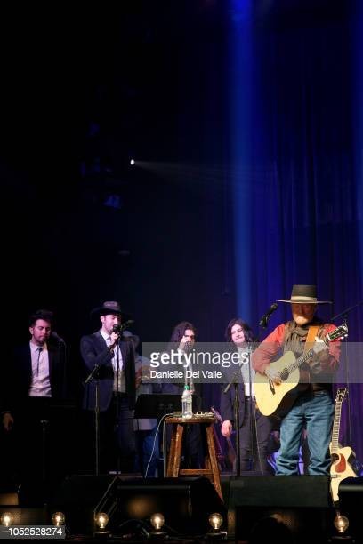 """The Last Bandoleros and Michael Martin Murphey perform onstage for """"Austinology Alleys of Austin"""" at Franklin Theater on October 18, 2018 in..."""