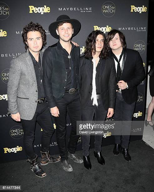 """The Last Bandoleros arrive at People's """"Ones to Watch"""" at E.P. & L.P. On October 13, 2016 in West Hollywood, California."""