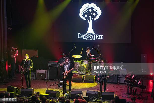 The Last Bandoleros perform at the Cherrytree Records 10th Anniversary at Webster Hall on March 9, 2015 in New York City.