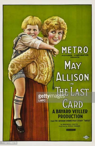 The Last Card poster US poster art right May Allison 1921